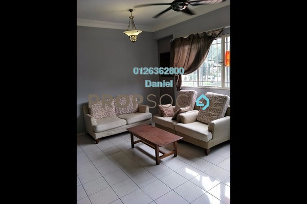 For Rent Condominium at Prima Tiara 2, Segambut Freehold Fully Furnished 3R/2B 1.4k