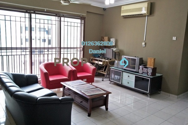 For Sale Condominium at Prima Tiara 2, Segambut Freehold Semi Furnished 3R/2B 430k