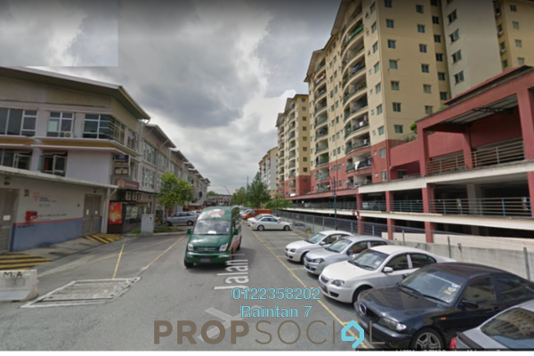 For Sale Condominium at Mandy Villa, Segambut Freehold Semi Furnished 3R/2B 380k
