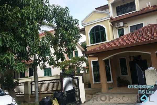 For Sale Terrace at Kota Warisan, Sepang Freehold Semi Furnished 4R/4B 730k