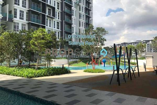 For Rent Condominium at Green Residence, Cheras South Freehold Semi Furnished 3R/4B 2.1k