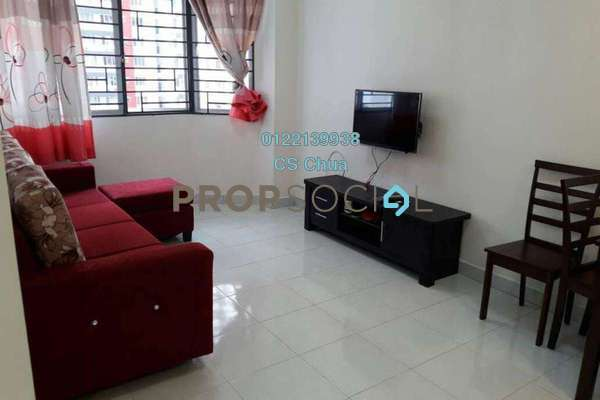 For Rent Condominium at Main Place Residence, UEP Subang Jaya Freehold Fully Furnished 2R/1B 1.7k