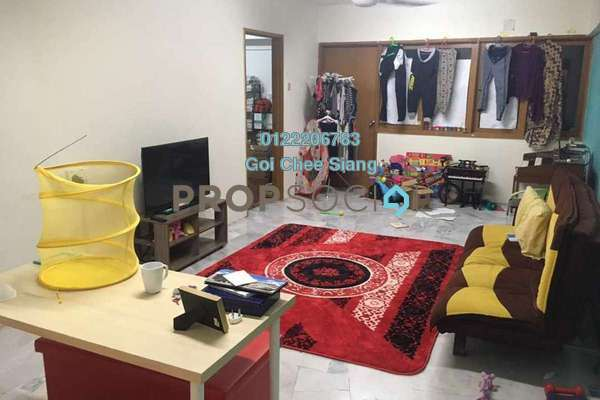 For Rent Condominium at Grandeur Tower, Pandan Indah Freehold Semi Furnished 3R/2B 1.3k
