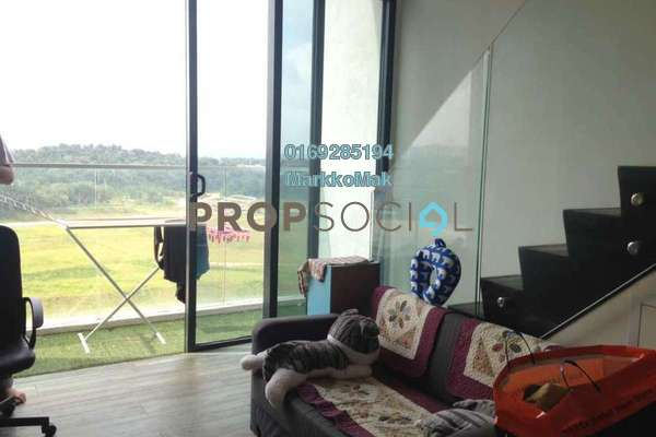 For Rent SoHo/Studio at The Place, Cyberjaya Freehold Fully Furnished 0R/1B 1.2k