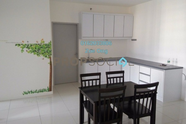 For Rent SoHo/Studio at Paragon, Cyberjaya Freehold Fully Furnished 1R/1B 1.5k