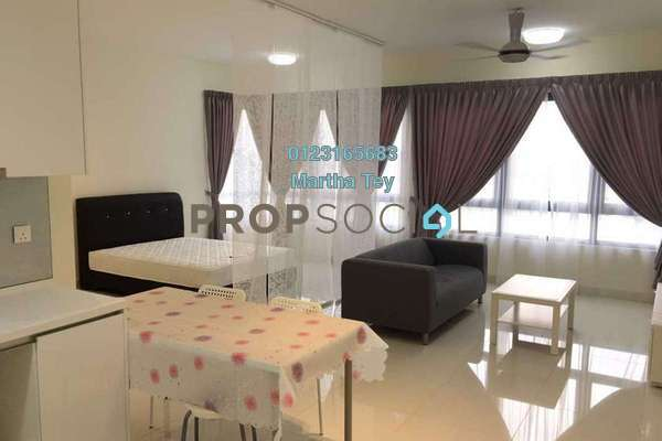 For Rent Condominium at Tropicana Metropark, Subang Jaya Freehold Fully Furnished 1R/0B 2k