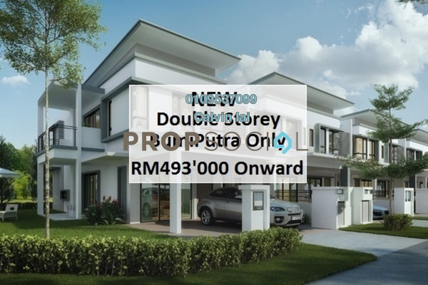 For Sale Terrace at BRP 7, Bukit Rahman Putra Freehold Unfurnished 4R/3B 493k
