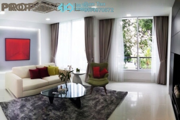 For Sale Superlink at Y Cantonments, Pulau Tikus Freehold Fully Furnished 7R/8B 5.1m
