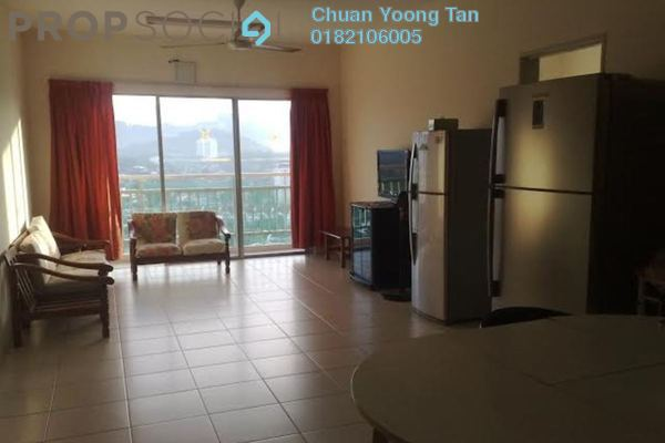 For Rent Condominium at Platinum Lake PV12, Setapak Freehold Semi Furnished 3R/2B 1.65k