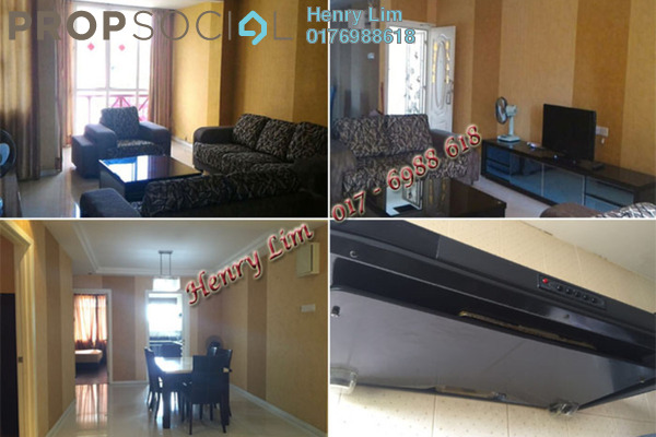 For Rent Condominium at Casa Ria, Cheras Freehold Fully Furnished 3R/2B 2.5k