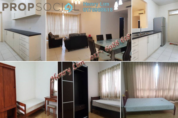 For Rent Condominium at The Tamarind, Sentul Freehold Fully Furnished 4R/3B 2.2k