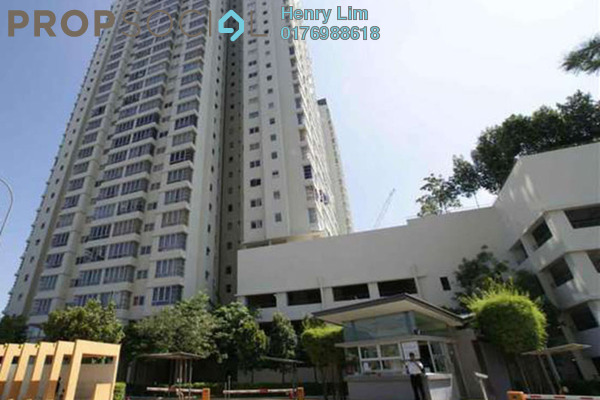 For Sale Condominium at The Tamarind, Sentul Freehold Fully Furnished 4R/3B 690k