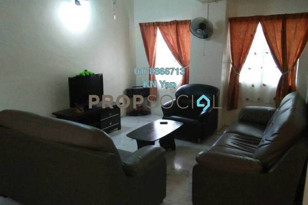 For Sale Condominium at Meadow Park 3, Old Klang Road Freehold Fully Furnished 3R/2B 400k