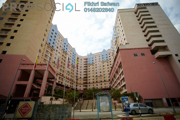 For Rent Apartment at Brunsfield Riverview, Shah Alam Freehold Fully Furnished 2R/2B 1.1k