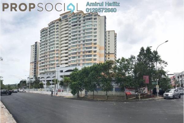 For Sale Condominium at Mutiara Anggerik, Shah Alam Freehold Semi Furnished 3R/2B 430k