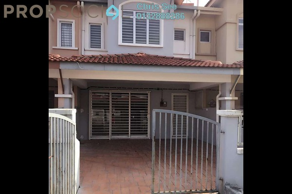 For Sale Terrace at Taman Klang Utama, Klang Freehold Unfurnished 4R/3B 428k