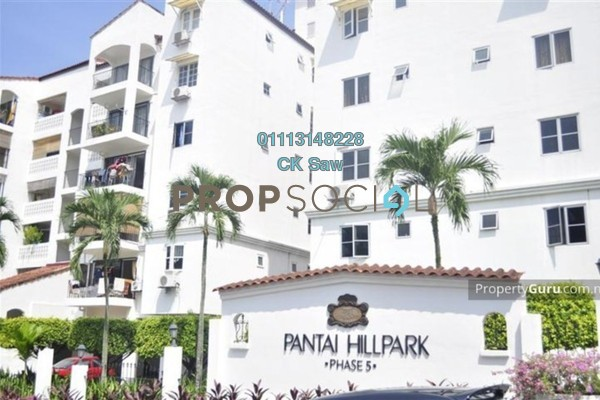 For Rent Condominium at Pantai Hillpark 5, Pantai Freehold Fully Furnished 3R/2B 2k