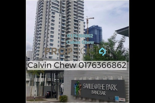For Sale Condominium at Saville @ The Park, Pantai Freehold Unfurnished 3R/2B 603k