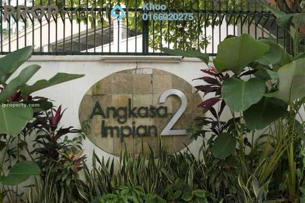 For Rent Condominium at Angkasa Impian 2, Bukit Ceylon Freehold Fully Furnished 1R/1B 2.3k