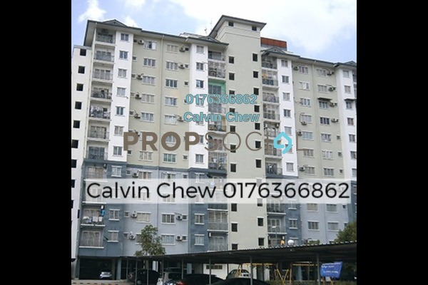 For Sale Apartment at Casa Riana, Bandar Putra Permai Freehold Unfurnished 3R/2B 232k