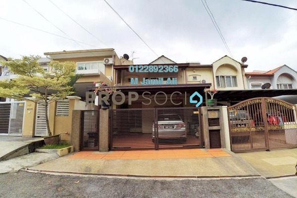 For Sale Terrace at Section 5, Wangsa Maju Leasehold Semi Furnished 4R/4B 850k