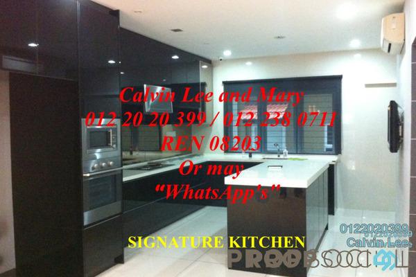 For Sale Terrace at Lakeside Terrace, Kota Kemuning Freehold Semi Furnished 4R/4B 1.2m