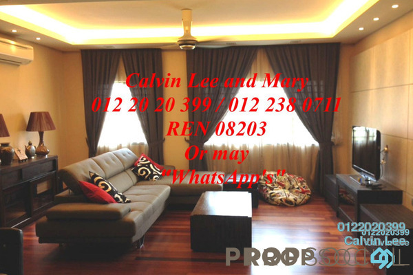 For Rent Condominium at Lagoon Residences, Kota Kemuning Freehold Fully Furnished 2R/2B 1.7k
