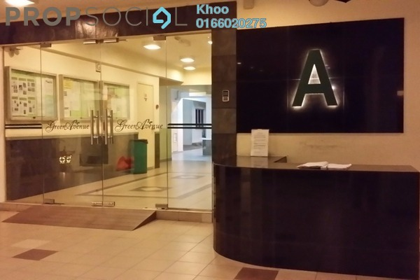 For Sale Condominium at Green Avenue, Bukit Jalil Freehold Fully Furnished 4R/2B 500k