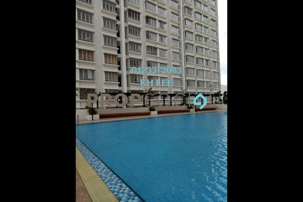 For Rent Apartment at Palm Garden Apartment, Klang Freehold Semi Furnished 3R/2B 1k