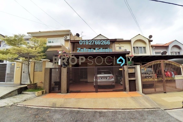 For Sale Terrace at Section 5, Wangsa Maju Leasehold Semi Furnished 4R/4B 850k