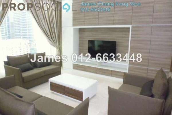 For Rent Condominium at Quadro Residences, KLCC Freehold Fully Furnished 3R/4B 10k