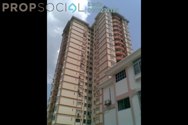For Rent Condominium at Casa Ria, Cheras Freehold Fully Furnished 3R/2B 2.2k