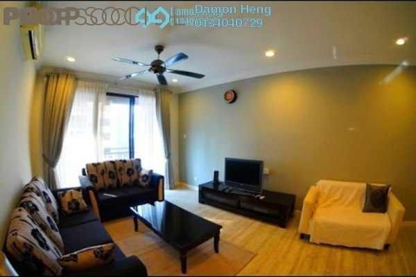 For Rent Condominium at Casa Kiara I, Mont Kiara Freehold Fully Furnished 3R/2B 2.4k