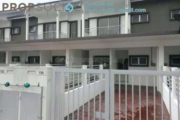 For Sale Townhouse at The Lake Residence, Puchong Freehold Semi Furnished 4R/2B 395k