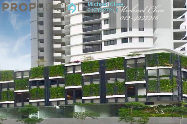 For Rent Condominium at The Landmark, Tanjung Tokong Freehold Fully Furnished 1R/1B 3.5k