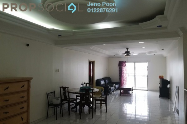 For Sale Condominium at Endah Ria, Sri Petaling Freehold Semi Furnished 3R/2B 465k