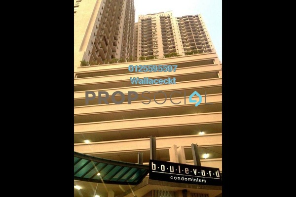 For Rent Condominium at Boulevard Condominium, Air Itam Freehold Fully Furnished 3R/2B 1.65k