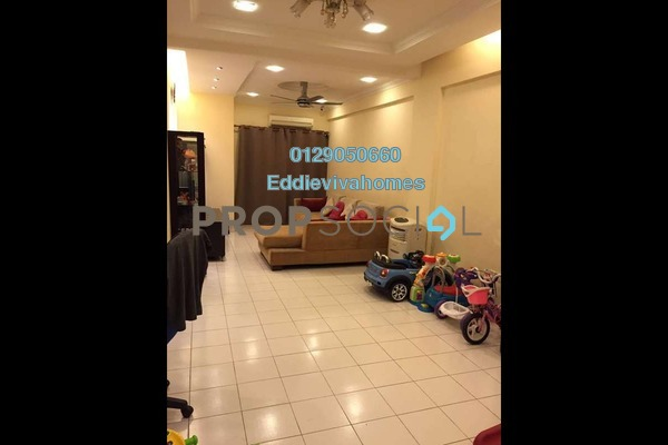 For Sale Condominium at Fortune Avenue, Kepong Freehold Semi Furnished 3R/2B 495k