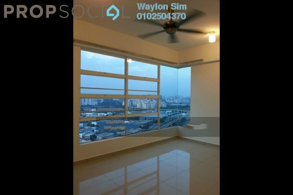 For Rent Condominium at The Zest, Bandar Kinrara Freehold Semi Furnished 3R/2B 1.5k