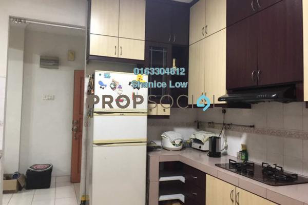 For Sale Apartment at Sri Bayu Apartment, Bandar Puchong Jaya Freehold Semi Furnished 3R/2B 370k