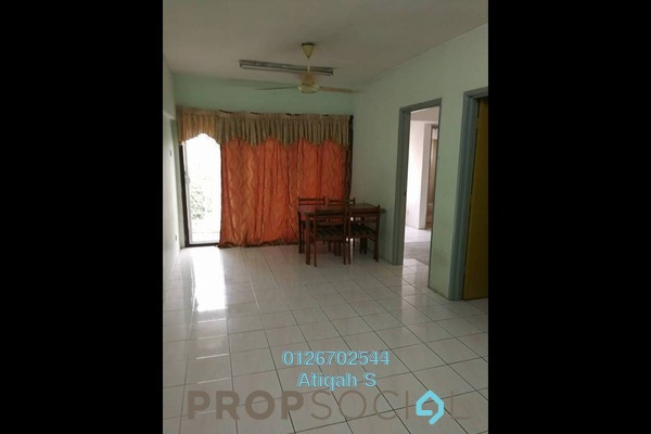 For Rent Apartment at Perdana Apartment, Shah Alam Freehold Semi Furnished 3R/2B 1.1k