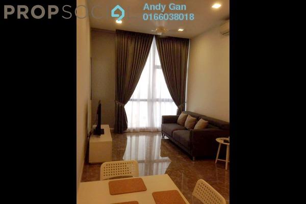For Rent Condominium at Laman Ceylon, Bukit Ceylon Freehold Fully Furnished 1R/1B 3k
