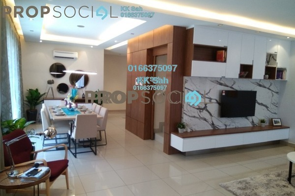For Sale Condominium at Bandar Damai Perdana, Cheras South Freehold Unfurnished 3R/2B 499k
