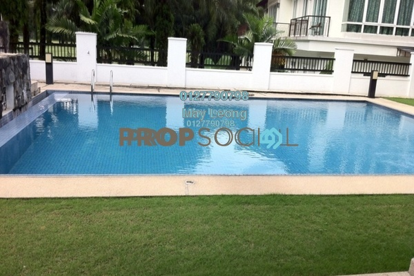 For Sale Bungalow at Pinggiran Golf, Saujana Freehold Semi Furnished 5R/7B 6.2m