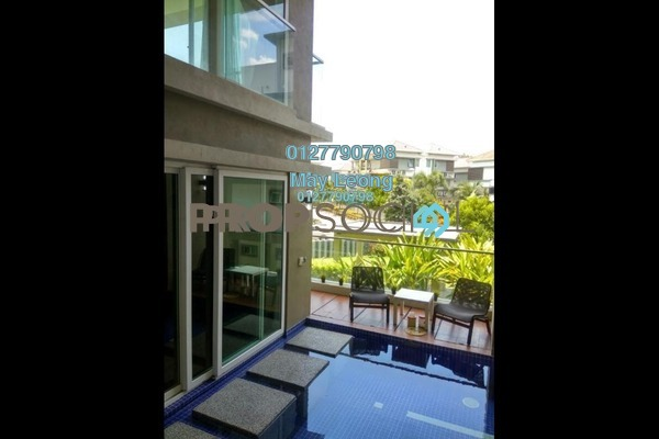 For Sale Semi-Detached at The Rafflesia, Damansara Perdana Leasehold Fully Furnished 4R/5B 4.5m