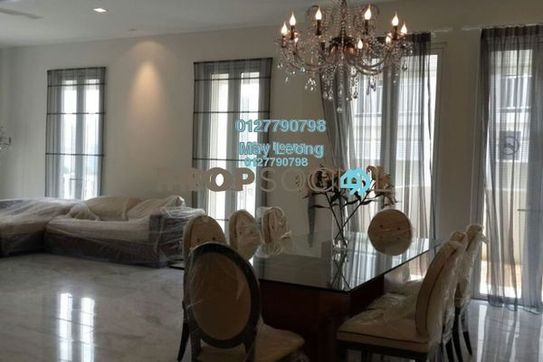 For Rent Semi-Detached at Villa Serene Kiara, Mont Kiara Freehold Semi Furnished 5R/5B 14k