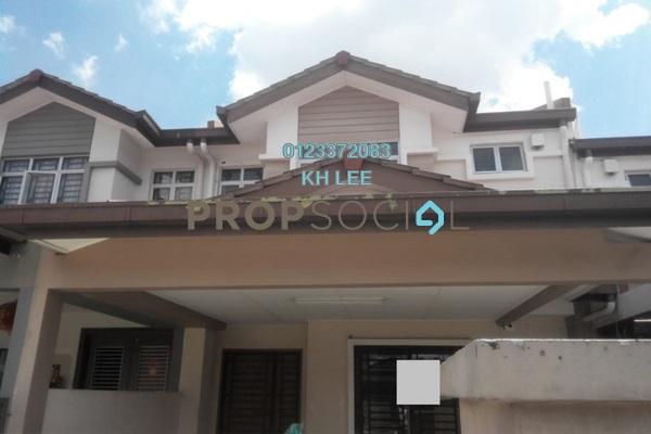 For Sale Terrace at Setia Impian, Setia Alam Freehold Semi Furnished 4R/3B 705k