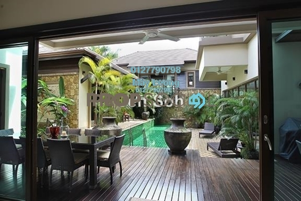For Sale Bungalow at Taman Bukit Damansara, Damansara Heights Freehold Semi Furnished 6R/0B 11.5m