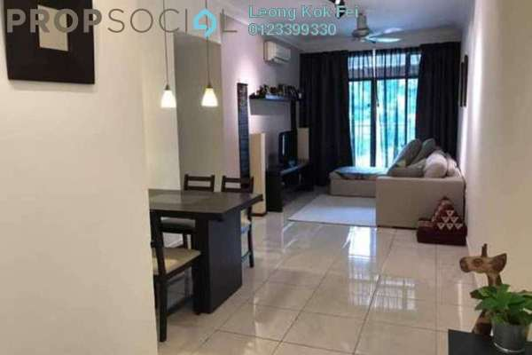 For Sale Condominium at Perdana View, Damansara Perdana Freehold Semi Furnished 3R/2B 500k