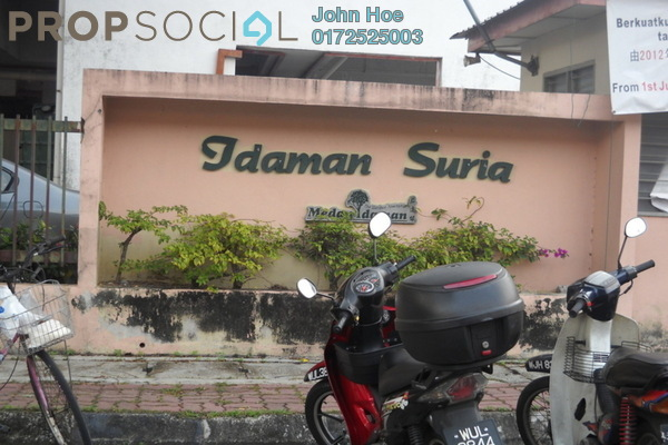 For Sale Apartment at Idaman Suria, Setapak Freehold Unfurnished 3R/2B 220k
